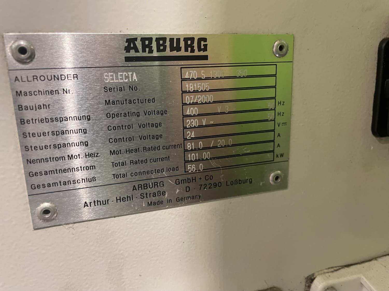 Arburg Allrounder 470S 1300-350