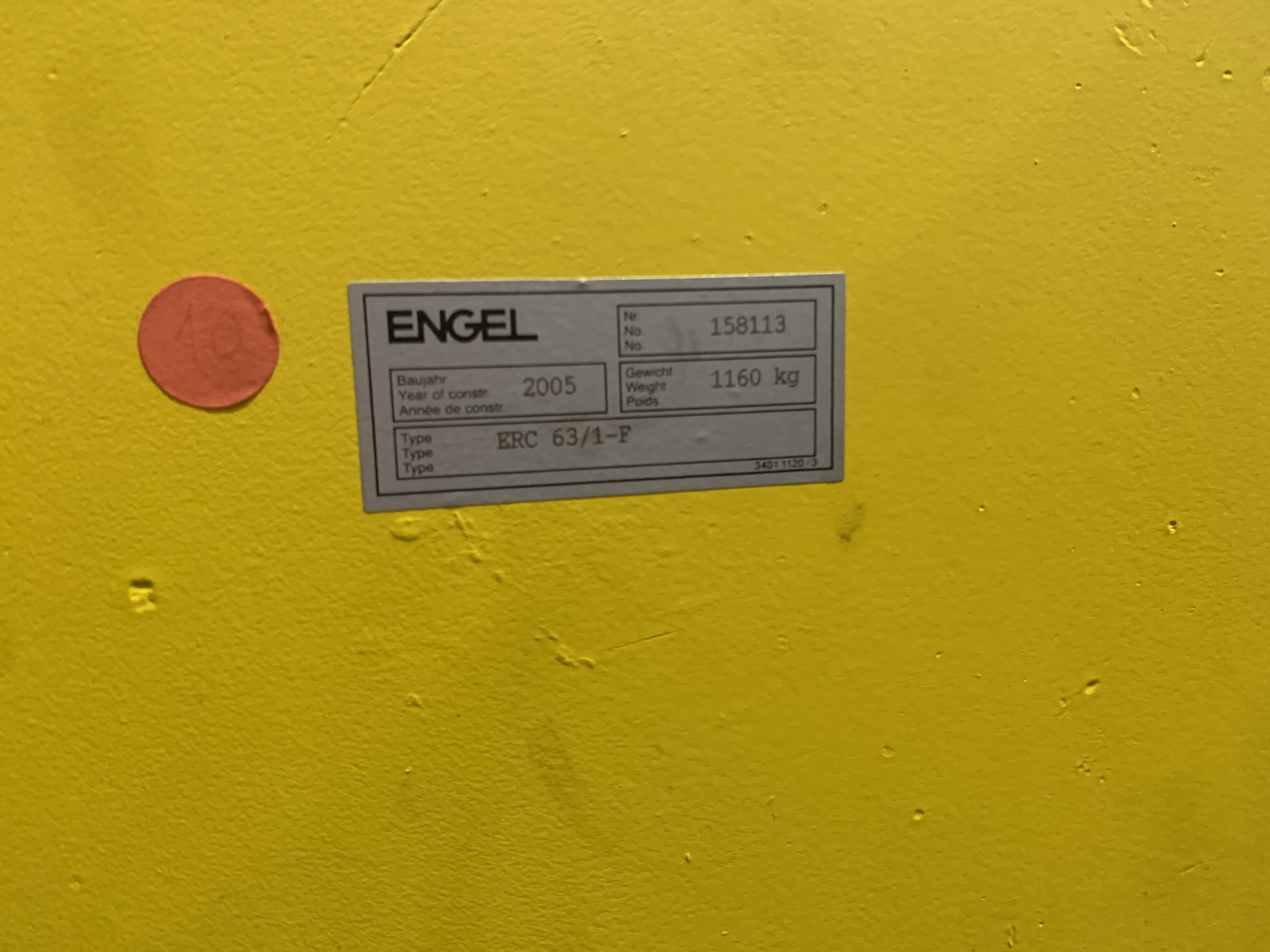 Engel VC 500/220 Tech